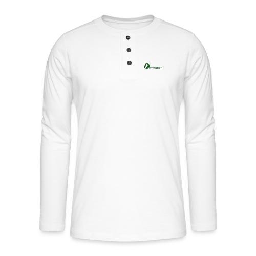 Logo DomesSport Green noBg - Henley Langarmshirt