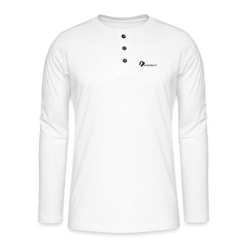 Logo DomesSport Blue noBg - Henley Langarmshirt