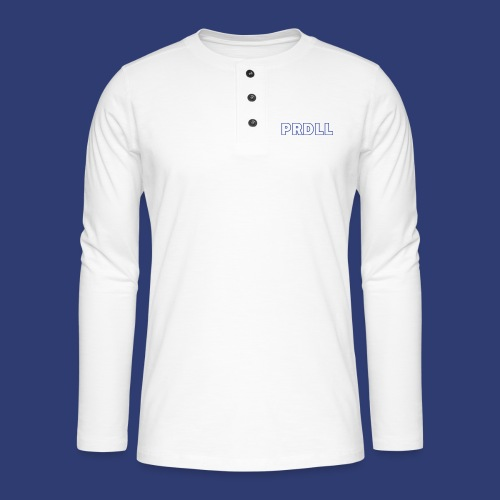 PRDLL - Henley shirt met lange mouwen