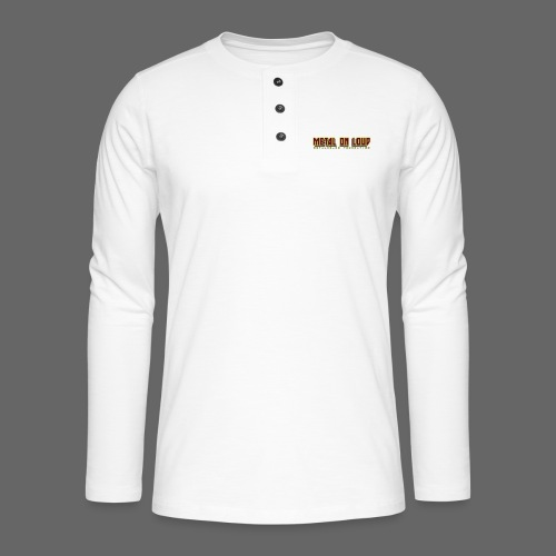 MOL Letter Logo Randy - Henley long-sleeved shirt