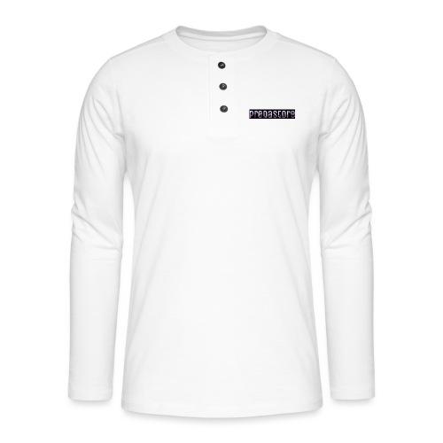 PredaStore Original Logo Design - Henley long-sleeved shirt
