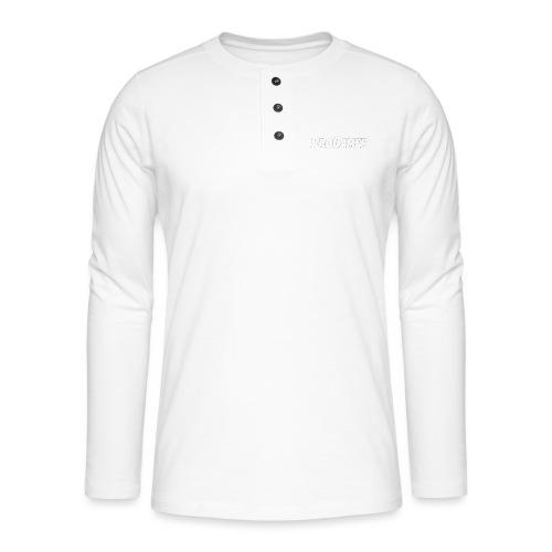 progamers merchandise - Henley T-shirt med lange ærmer