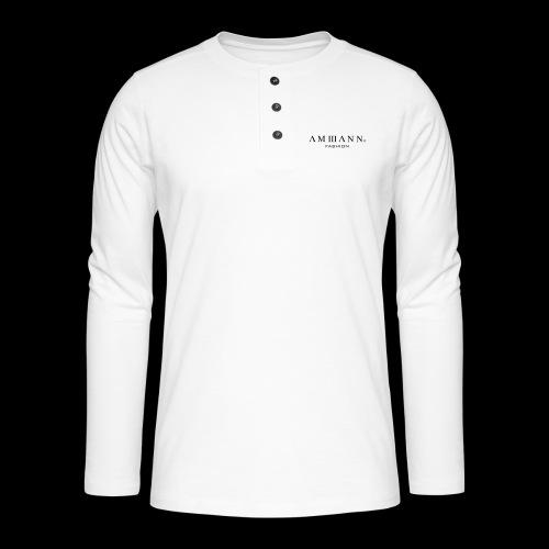 AMMANN Fashion - Henley Langarmshirt