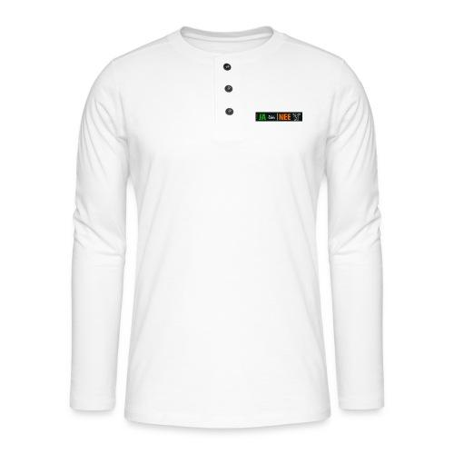 facebookvrienden - Henley shirt met lange mouwen