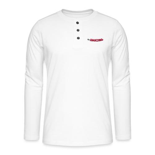 Amazing - Henley shirt met lange mouwen