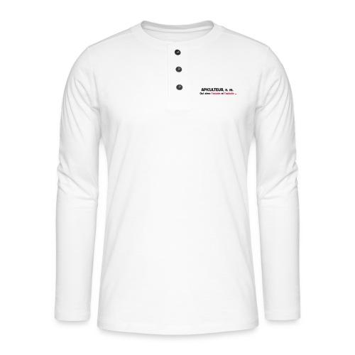 essaim - T-shirt manches longues Henley