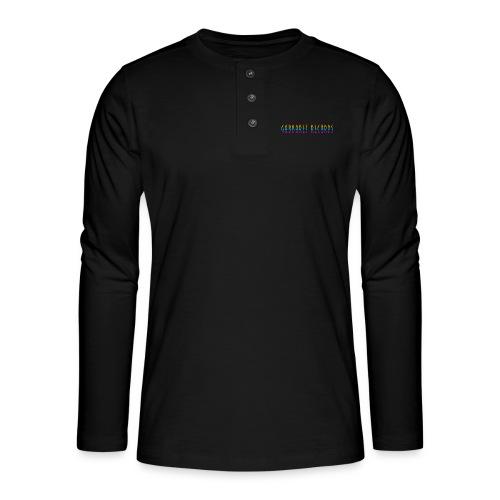 gabbaretr png - Henley shirt met lange mouwen