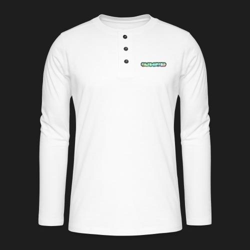 TiltShifted Logo on Black - Henley pitkähihainen paita