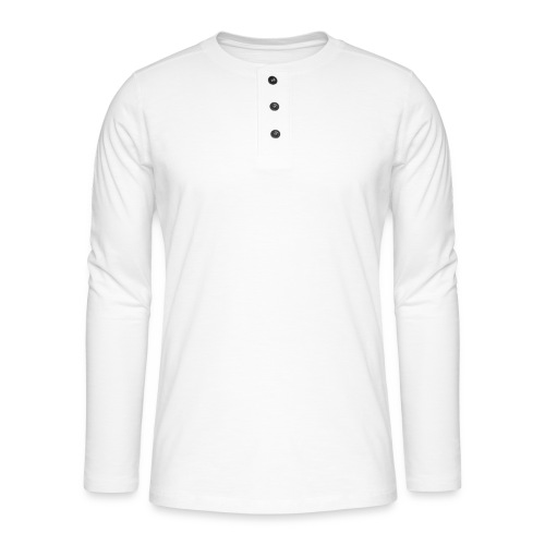 Nocturnal White - Henley long-sleeved shirt
