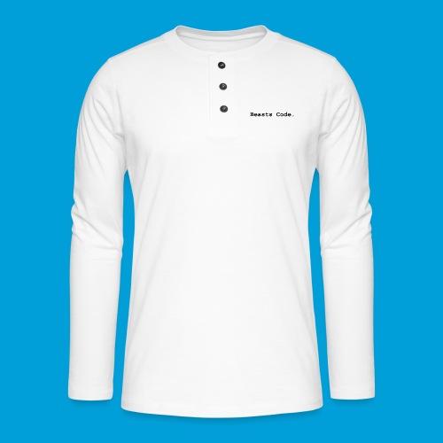 Beasts Code. - Henley long-sleeved shirt