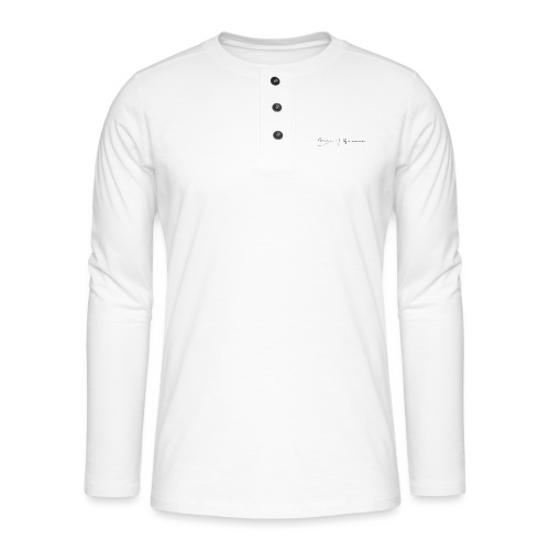 ona i escuma - Camiseta panadera de manga larga Henley
