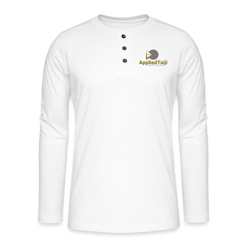 Applied Taiji Logo Master - Henley Langarmshirt