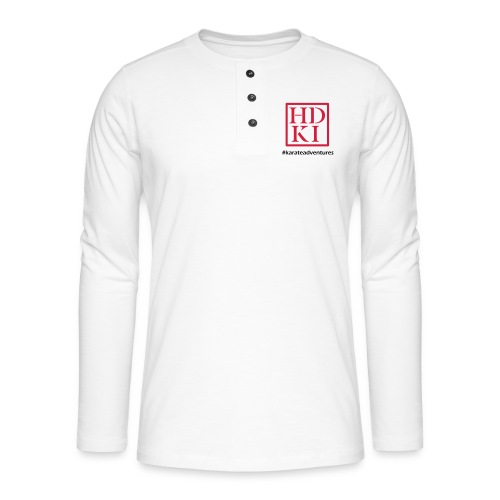 HDKI karateadventures - Henley long-sleeved shirt