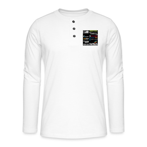 Sponsors back - Henley long-sleeved shirt