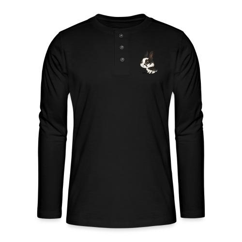 Kanin - Henley langermet T-skjorte
