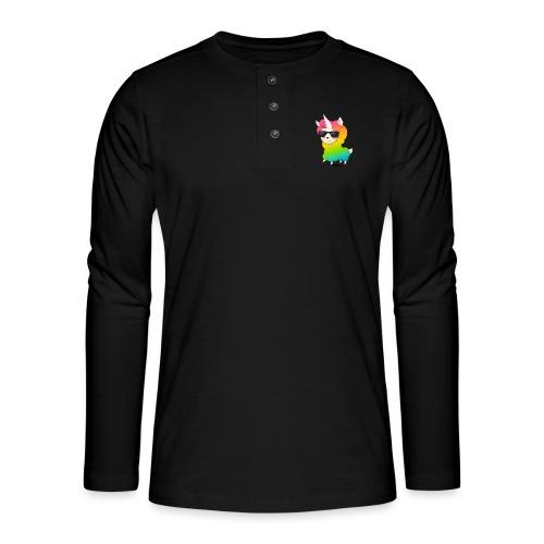 Rainbow animo - Henley pitkähihainen paita