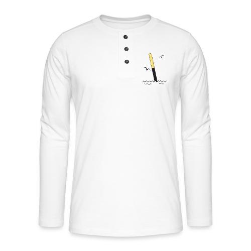 FP25 ETELÄVIITTA Merimerkit funprint24 net - Henley pitkähihainen paita