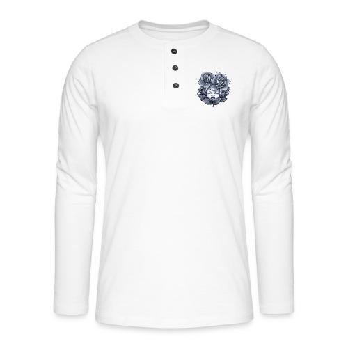 Flower Head - T-shirt manches longues Henley
