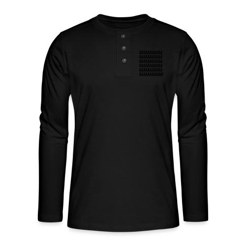 Aaaaaaaah! - T-shirt manches longues Henley