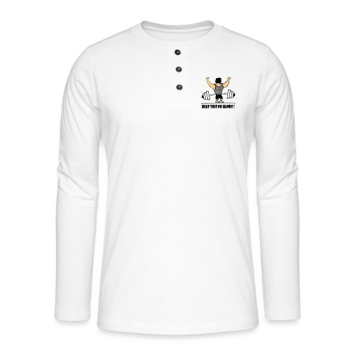 BEAT THIS NO HANDS ! - Henley long-sleeved shirt