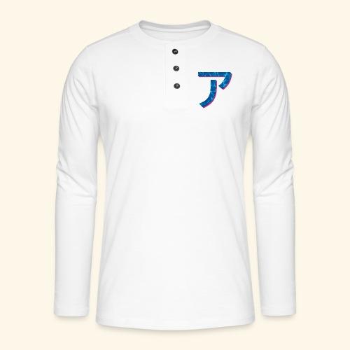 ア logo - T-shirt manches longues Henley