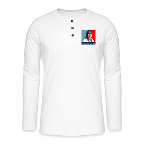 Lekil Kuxlejal - Camiseta panadera de manga larga Henley