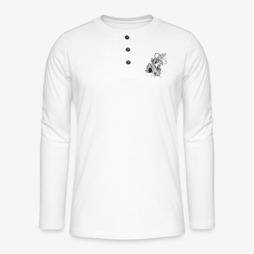 Poisson - T-shirt manches longues Henley