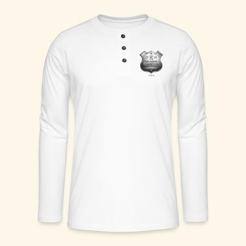 Grillen T Shirt Chief Executive Grillmeister - Henley Langarmshirt