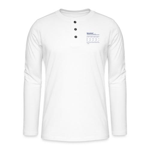 SPIRITUALIZED LOGO - Henley shirt met lange mouwen