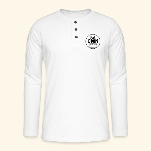 Coon Electronic transparent - T-shirt manches longues Henley