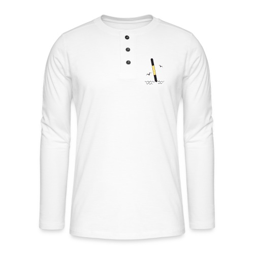 ITÄVIITTA Merimerkit, Tekstiilit ja lahjat - Henley pitkähihainen paita