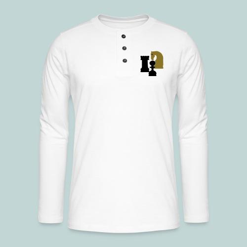 Figurenguppe1 - Henley Langarmshirt