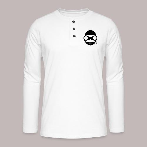 Peeper Biker - Henley Langarmshirt