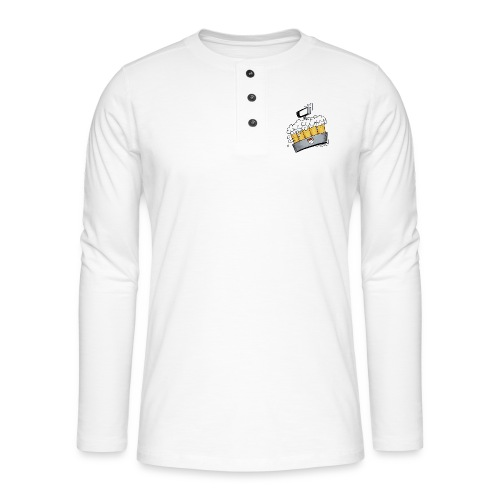 Kölsche Sticker - Kranz.png - Henley Langarmshirt