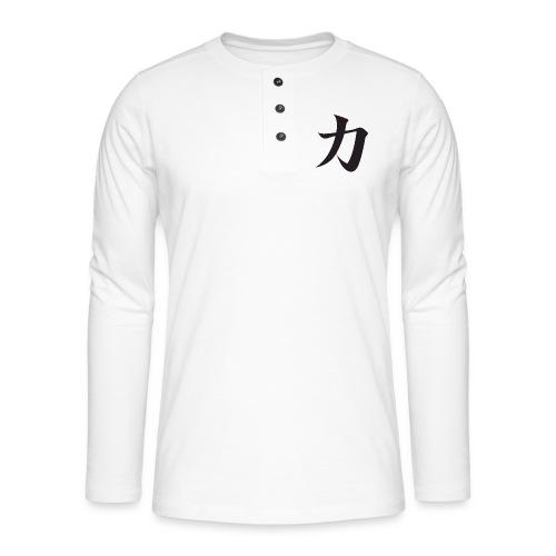 Katana - T-shirt manches longues Henley