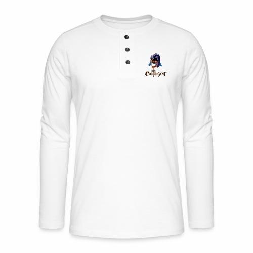 Contignent Logo - Henley long-sleeved shirt