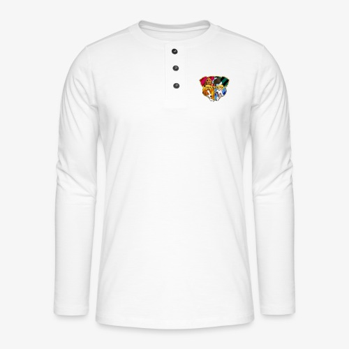 Dogwarts Logo - Henley long-sleeved shirt