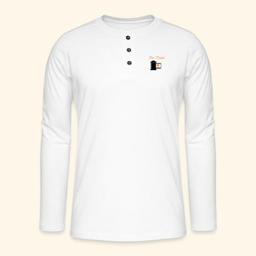 Foto Master - Henley T-shirt med lange ærmer