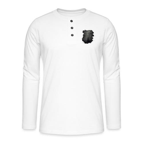valhalla ravens - Henley T-shirt med lange ærmer