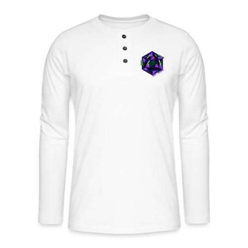 POLYHEDRA - Henley long-sleeved shirt