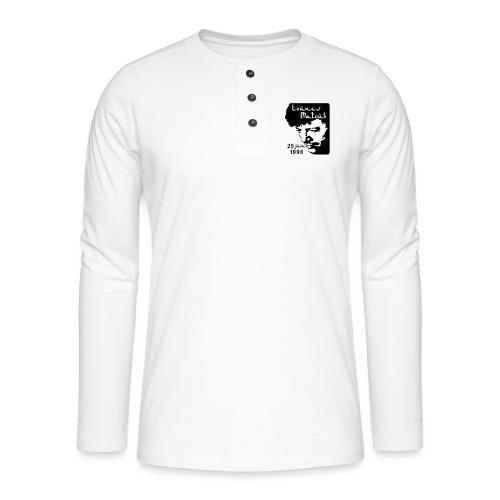 Motif hommage à Lounes Matoub - T-shirt manches longues Henley