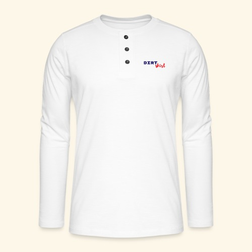 The Dirt shirt - Henley shirt met lange mouwen