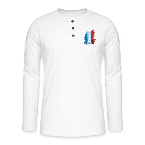 PARIS FRANCE - Henley long-sleeved shirt