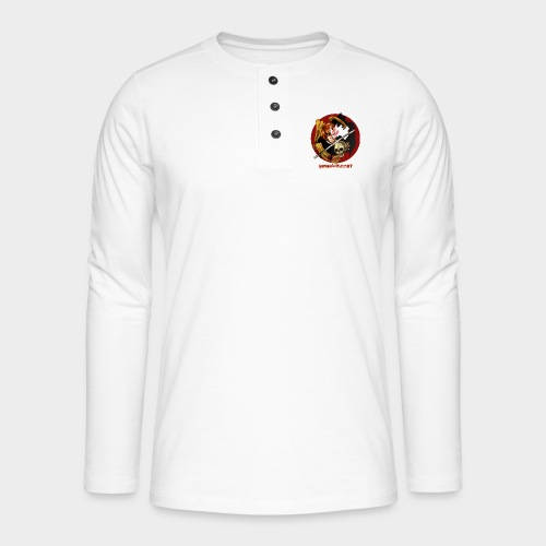 Geneworld - Ichigo - T-shirt manches longues Henley
