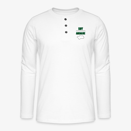 Soy Andaluz - Camiseta panadera de manga larga Henley