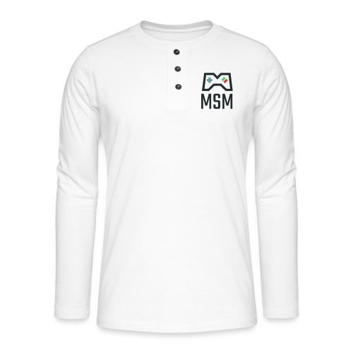 MSM GAMING CONTROLLER - Henley T-shirt med lange ærmer