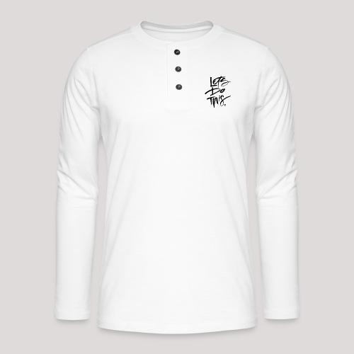 LDT Clear MASTER BLK - Henley long-sleeved shirt