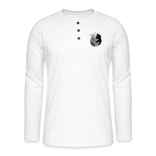 panther-jaguar special edition - Henley T-shirt med lange ærmer