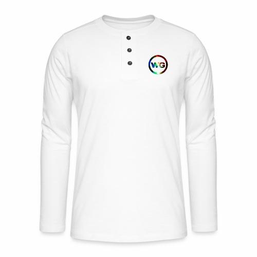 wout games - Henley shirt met lange mouwen