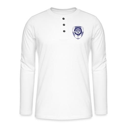 Logo Scouting Erskine 2018 - Henley shirt met lange mouwen